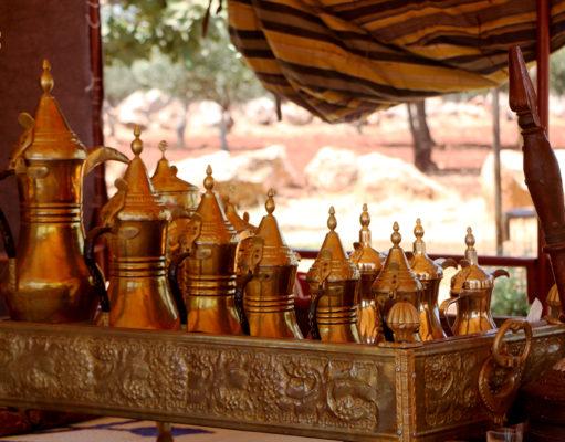 دلال القهوة العربية في سوريا - تصوير محمد حمروش
