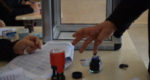 من انتخابات المجالس المحلية في قرية تلعار بريف حلب -فوكس حلب
