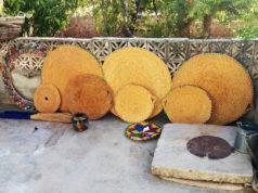 صناعة القش في إدلب بأشكال متنوعة