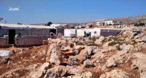 مخيم تلعادة بريف إدلب