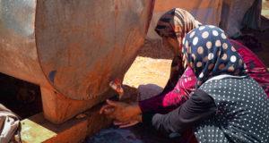 الصورة من مخيمات ريف إدلب الشمالي - خاص