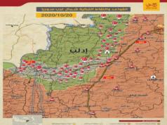 خريطة توزع النقاط التركية -إنترنيت