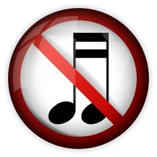رسم تعبيري لمنع الموسيقا -انترنيت