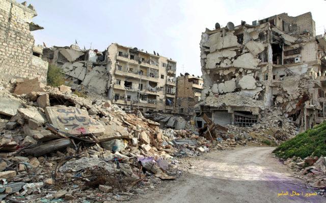 من ارشيف فوكس حلب - تصوير جلال المامو