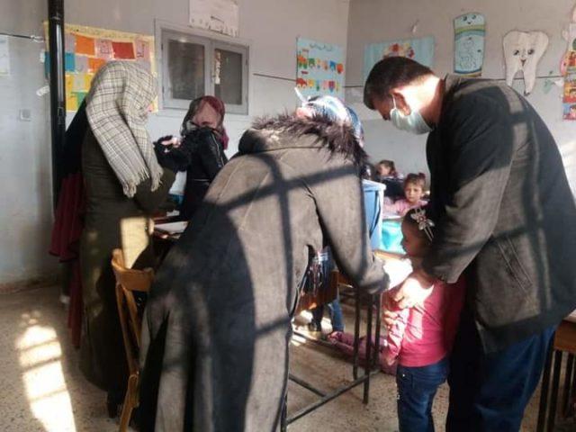 من حملة اللقاح في إدلب -فوكس حلب