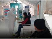الصورة من أحد مراكز العزل في إدلب