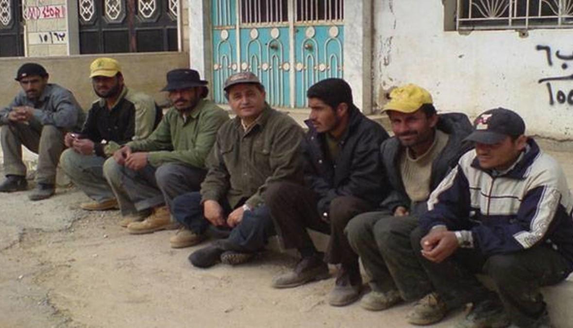 صورة تعبيرية لعمال سوريين في لبنان -إنترنيت