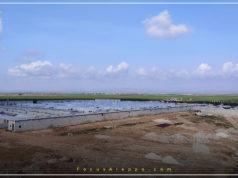 جانب من قرية شام للأيتام في ريف حلب الشمالي