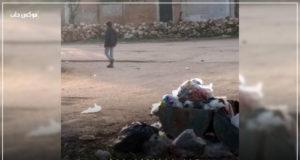 انتشار القمامة في شوارع الفوعة