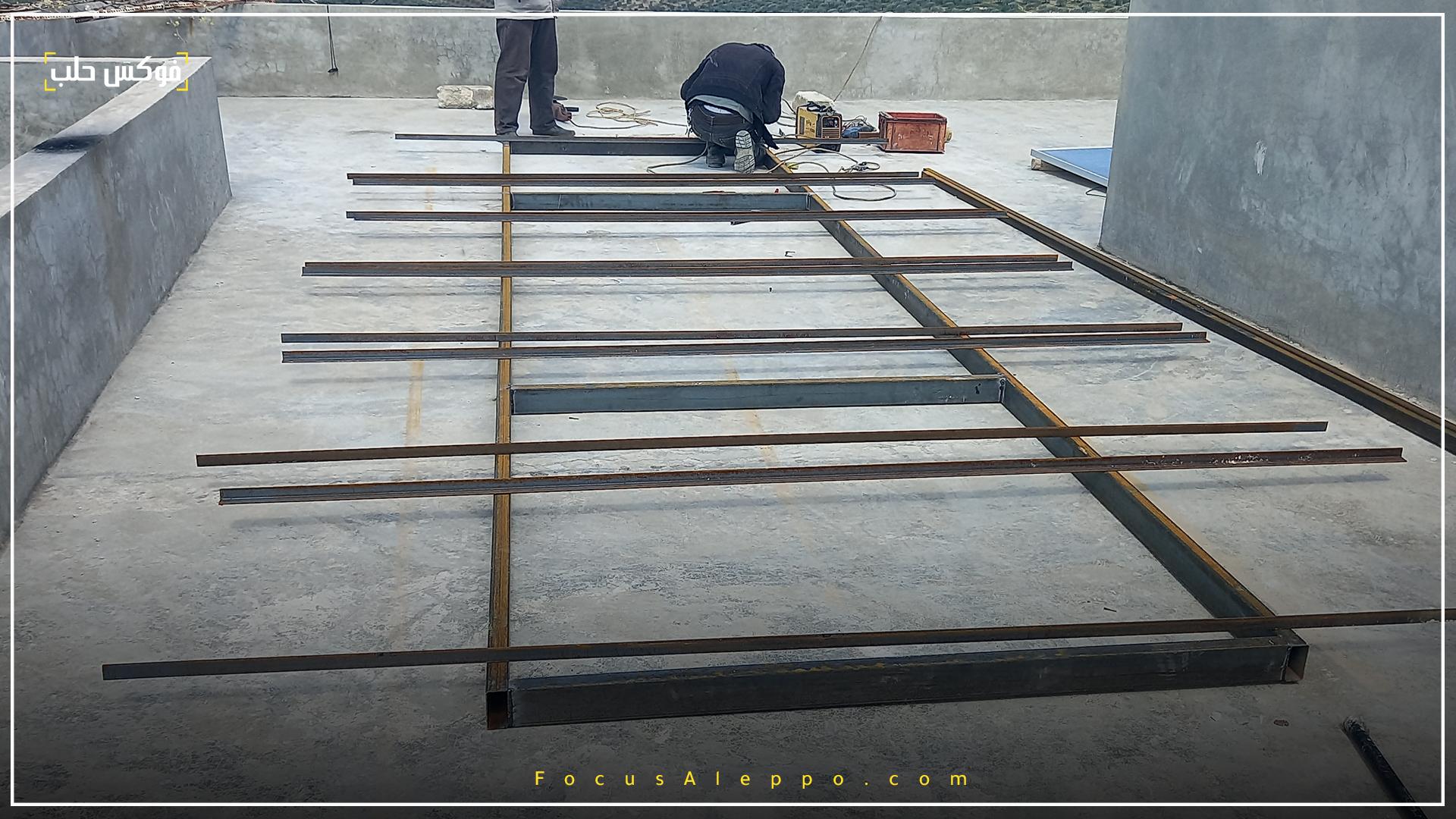 تركيب ألواح الطاقة الشمسية في إدلب