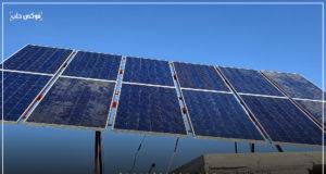 ألواح الطاقة الشمسية في إدلب