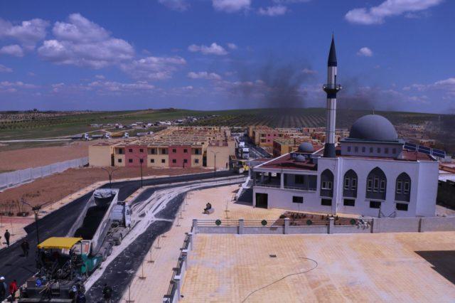 التجمع السكني الثالث في جرابلس بريف حلب -إنترنت