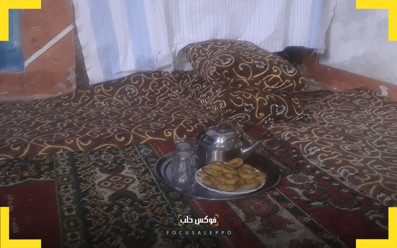 كعك العيد.. رفيق الشاي والسهرات في إدلب
