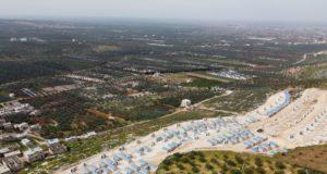 مساكن مسبقة الصنع -تصوير: علي الحاج سليمان