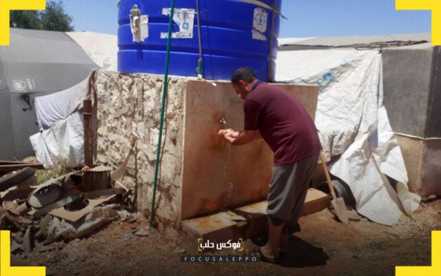 مشروع مياه مستدامة في مخيمات حربنوش