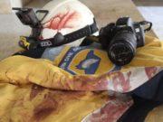 من اثار القصف بقذائف كروسنوبول على قرية سرجة -إنترنت