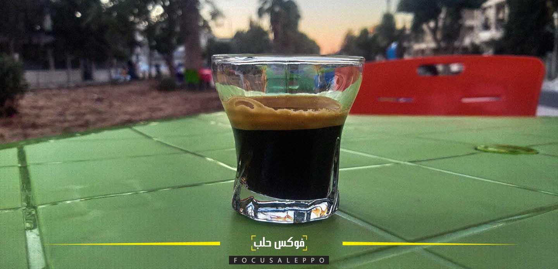 مقاهٍ في الهواء الطلق داخل إدلب
