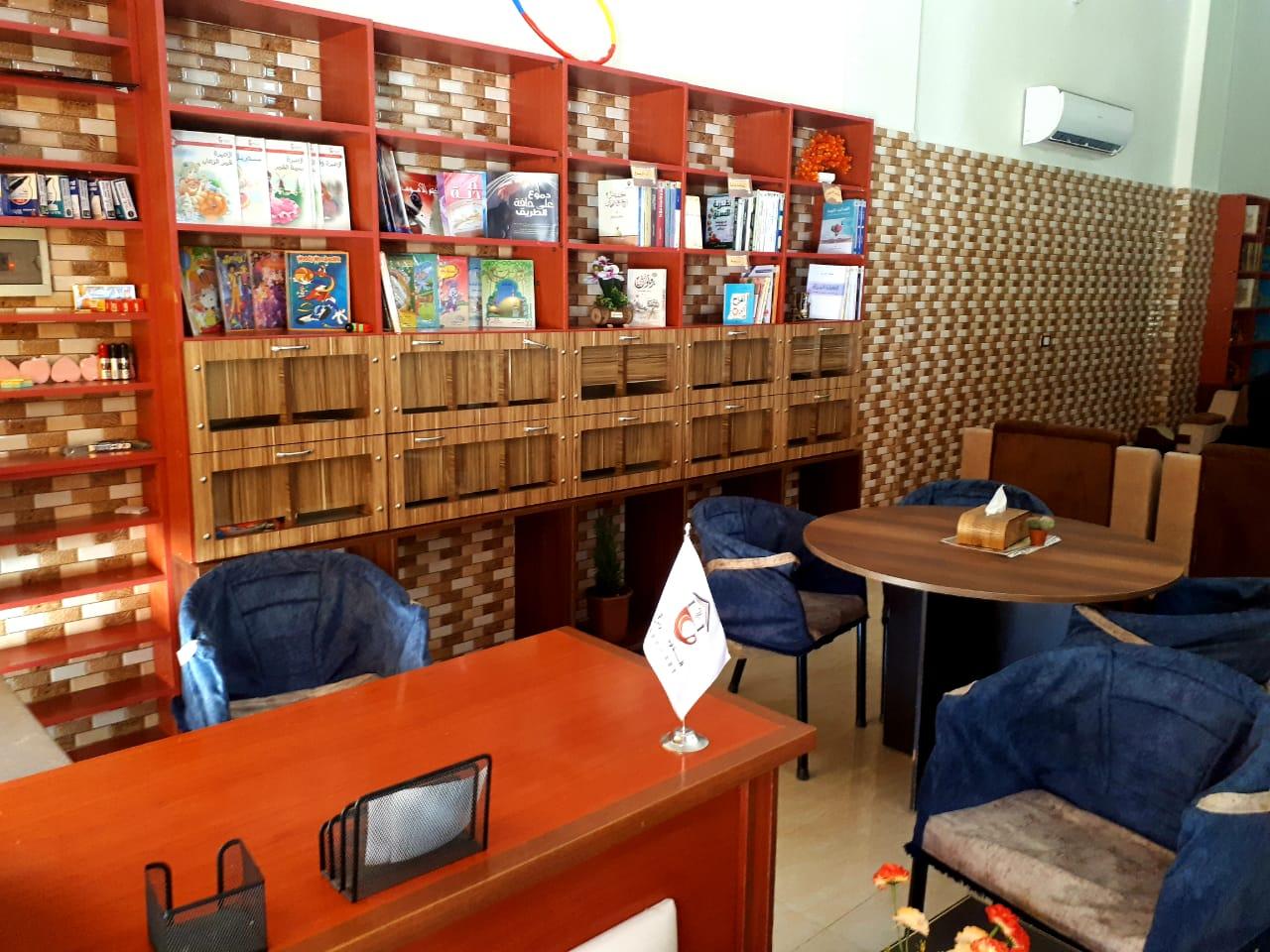 الدومري أحد المقاهي الثقافية بريف حلب