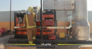 محرقة النفايات الطبية في الهباط شمالي غرب إدلب