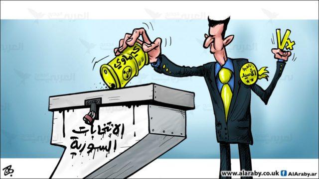 صورة تعبيرية لـ انتخابات سورية -المصدر العربي الجديد